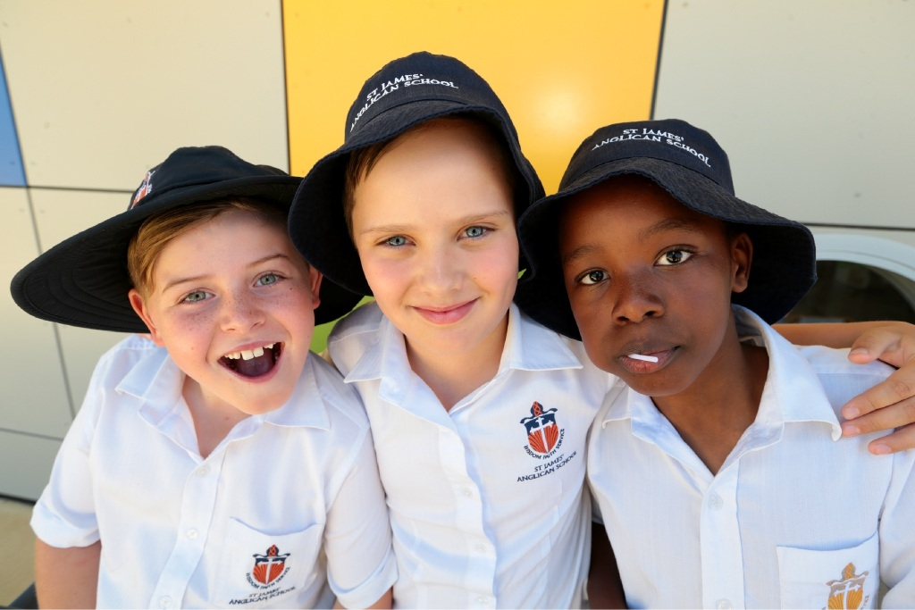 Oliver Toughill, Josh Schoeman and Adrian Manyere.