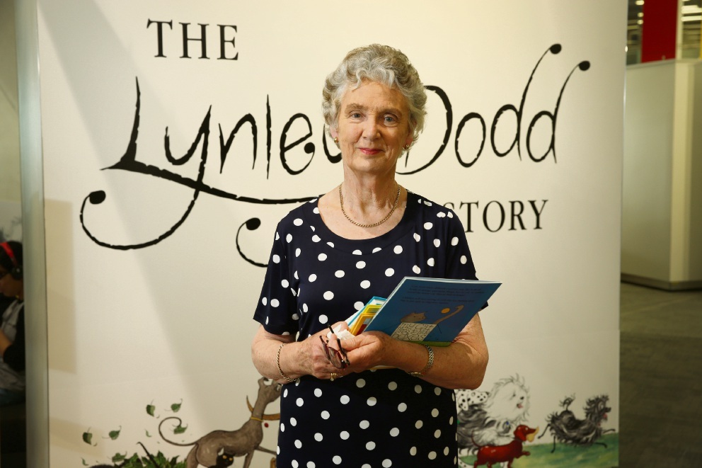 Dame Lynley Dodd. Picture: Andrew Ritchie d444322