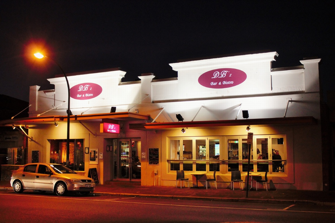 DB'z Bar and Bistro is one of the best bars in Perth.
