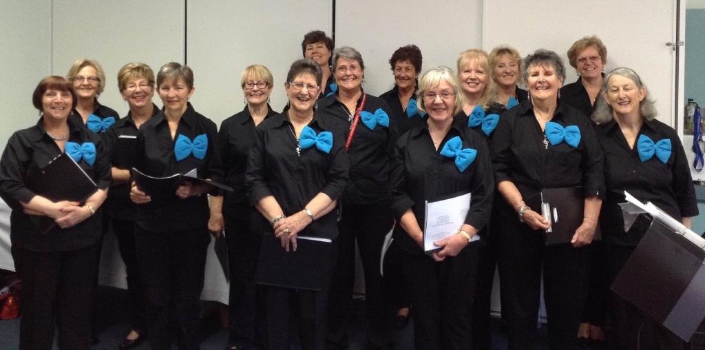 Members of the Circle of Friends Women's Community Choir.