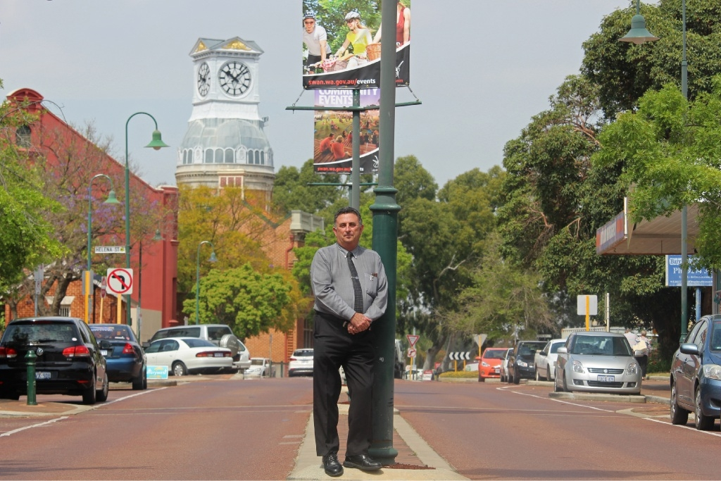 New mayor Mick Wainwright wants City of Swan regarded as the best