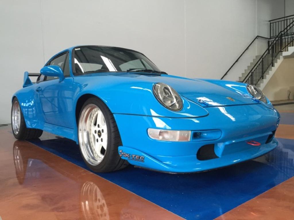 Justin Gan's custom-built 1978 Porsche.
