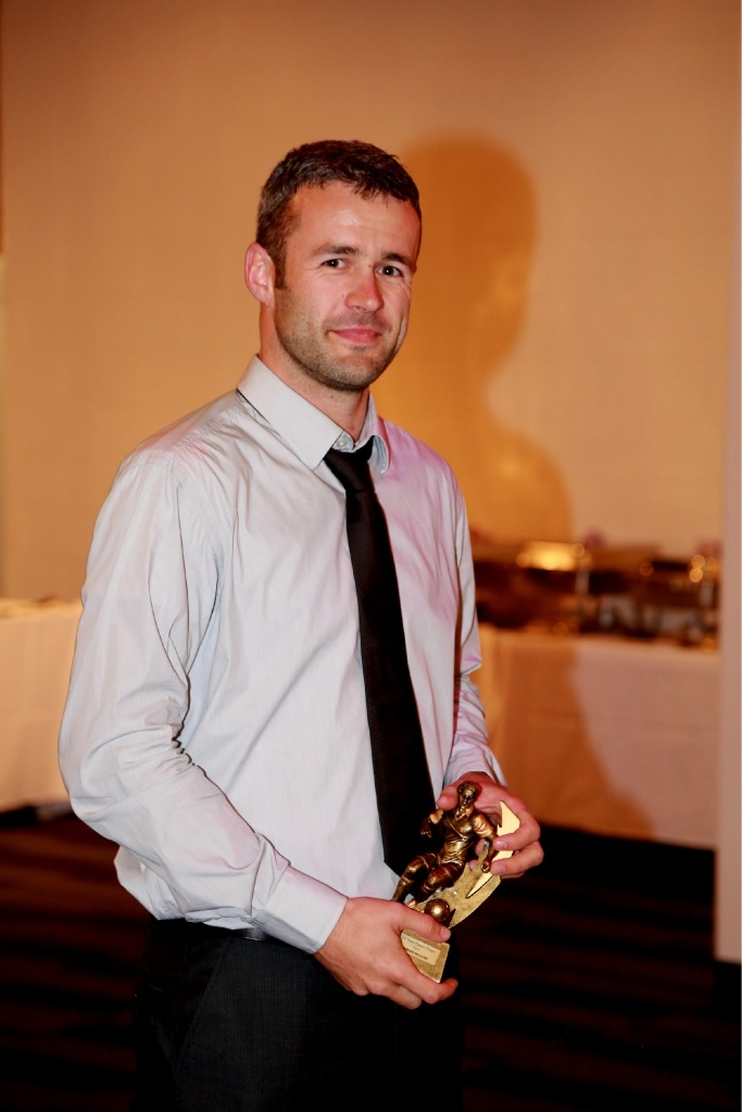 Damian McGurk was named Player of the Year. Picture: Outback Bob Photography