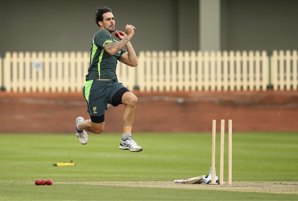 Mitchell Johnson could play for Wanneroo this weekend. Picture: Getty Images