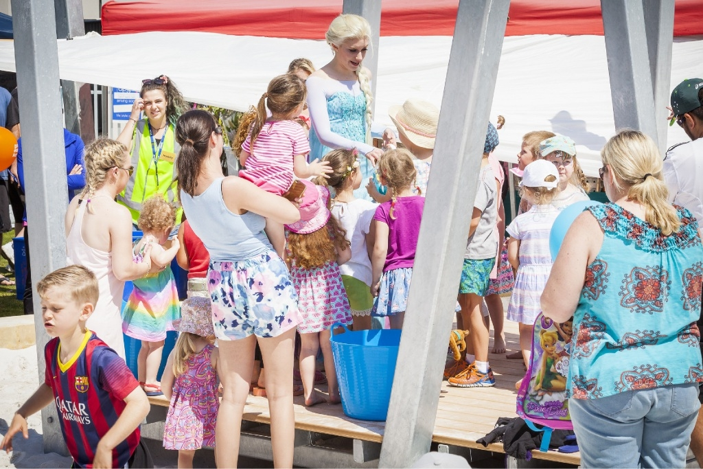 Chef captures spirit of spring at fair in Jindalee