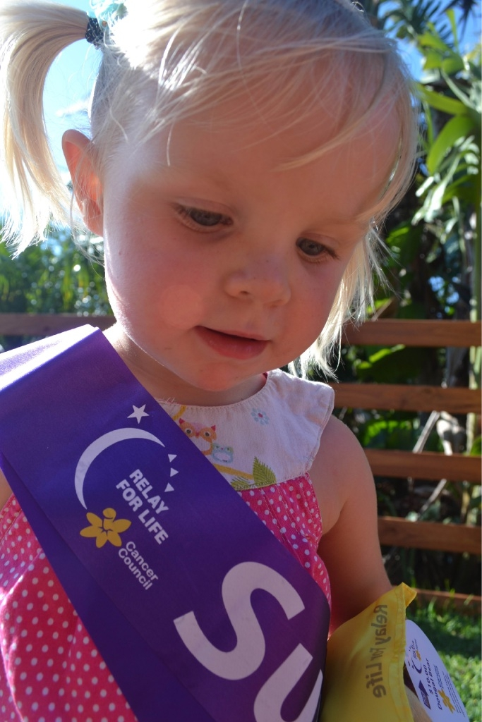 Harper-Beau Lee-Allen was seven months old when she received a cancer diagnosis