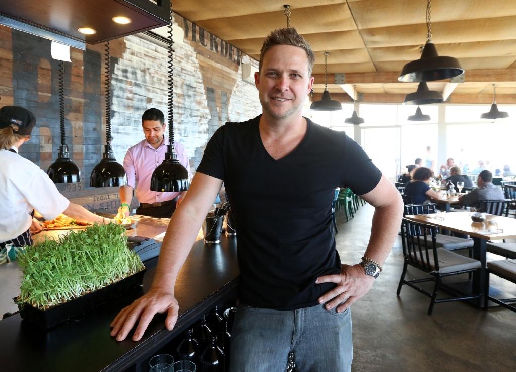 Bib and Tucker head chef Scott Bridger.Picture: Matt Jelonek www.communitypix.com.au   d445134