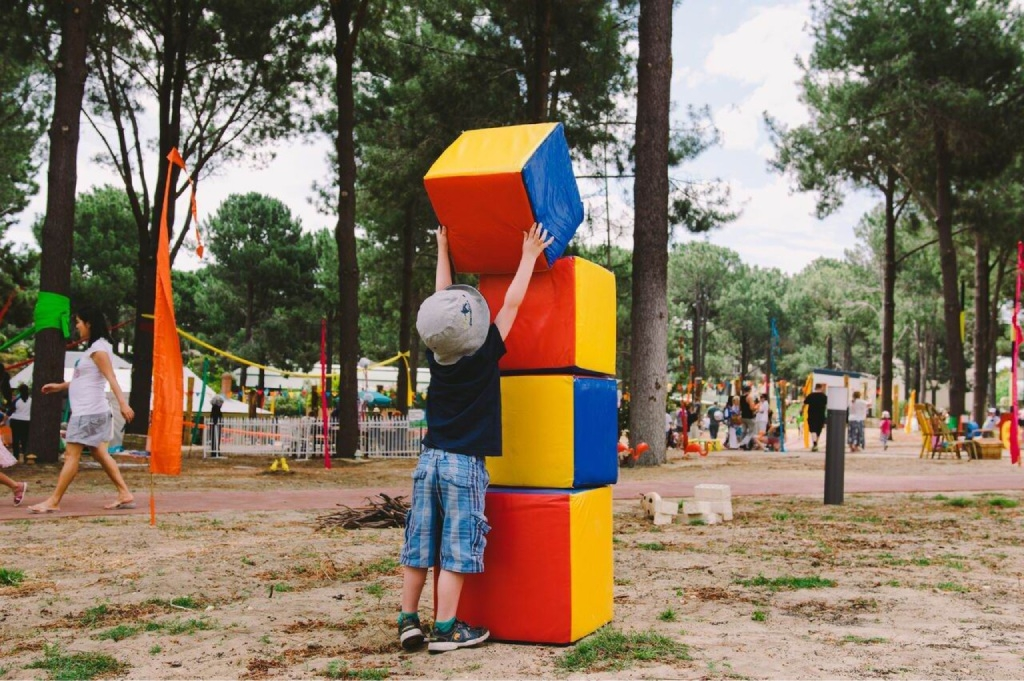 The toddler area proved a popular addition to this year's festival site. Picture: Tanya Voltchanskaya