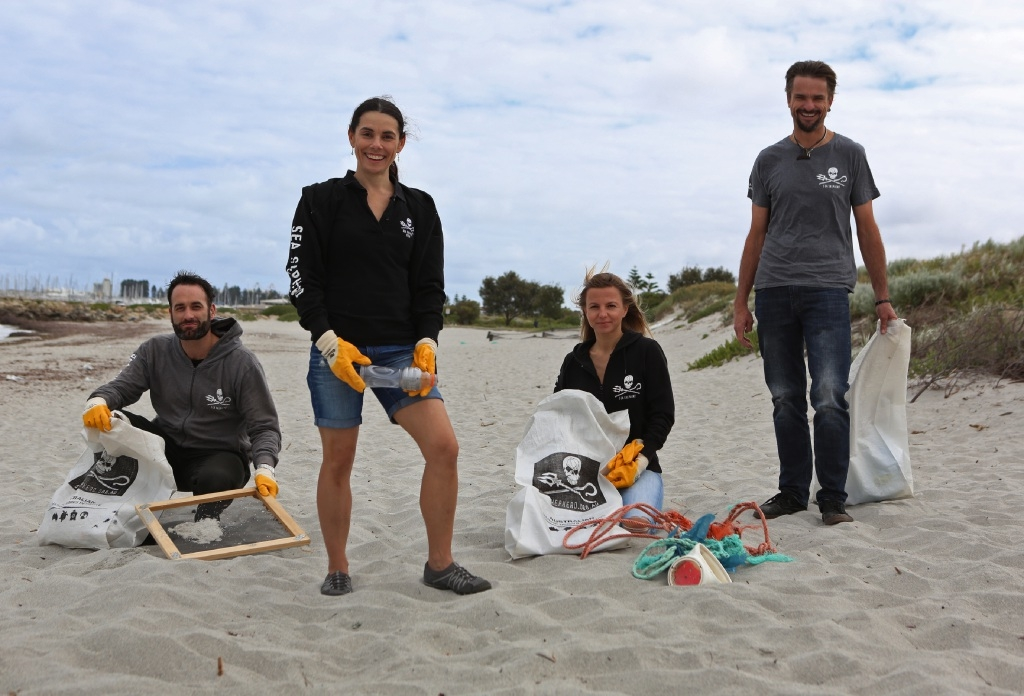 Michael Davey, Marina Hansen, Annika Hauschild and Chris Dodd. Picture: Matt Jelonek  d445538