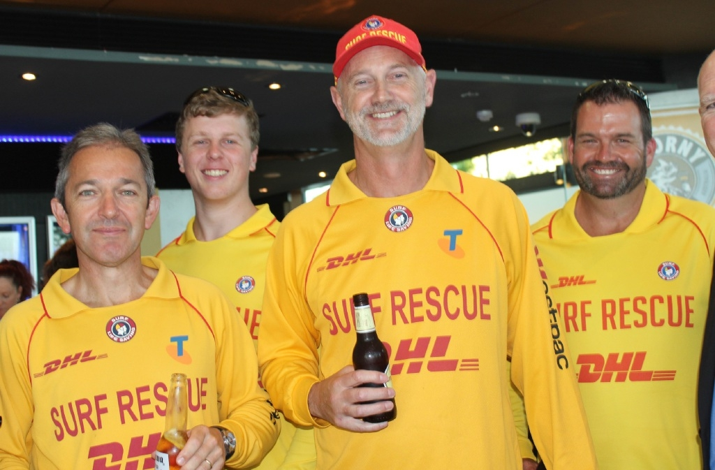 Lifesaving volunteers get special treatment at Mandurah event