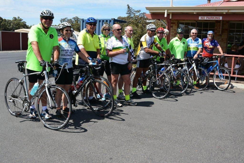 Mandurah Murray Vietnam Veterans Group and Pinjarra RSL members rode to Bunbury and back.