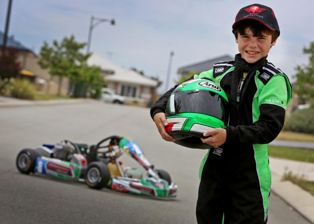 Racing is very much in Jett Demarte's blood.Picture: Matt Jelonek www.communitypix.com.au   d445647