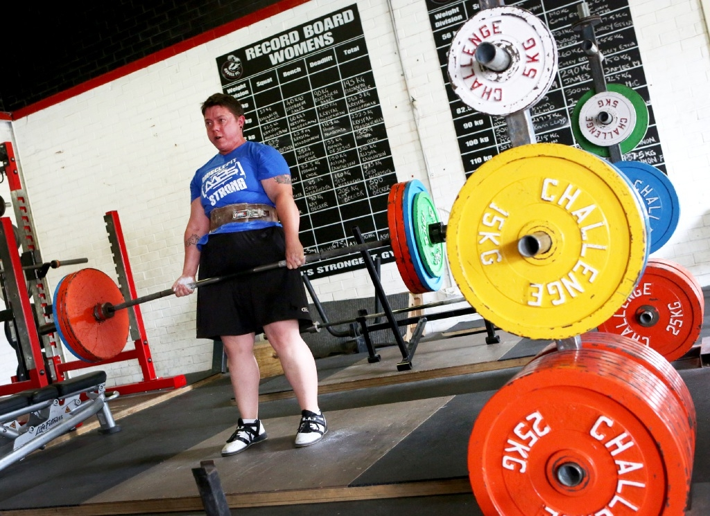 Wundowie power lifter Kat Becker is heading to Melbourne with records in her sights. Picture: Matt Jelonek        www.communitypix.com.au   d445343