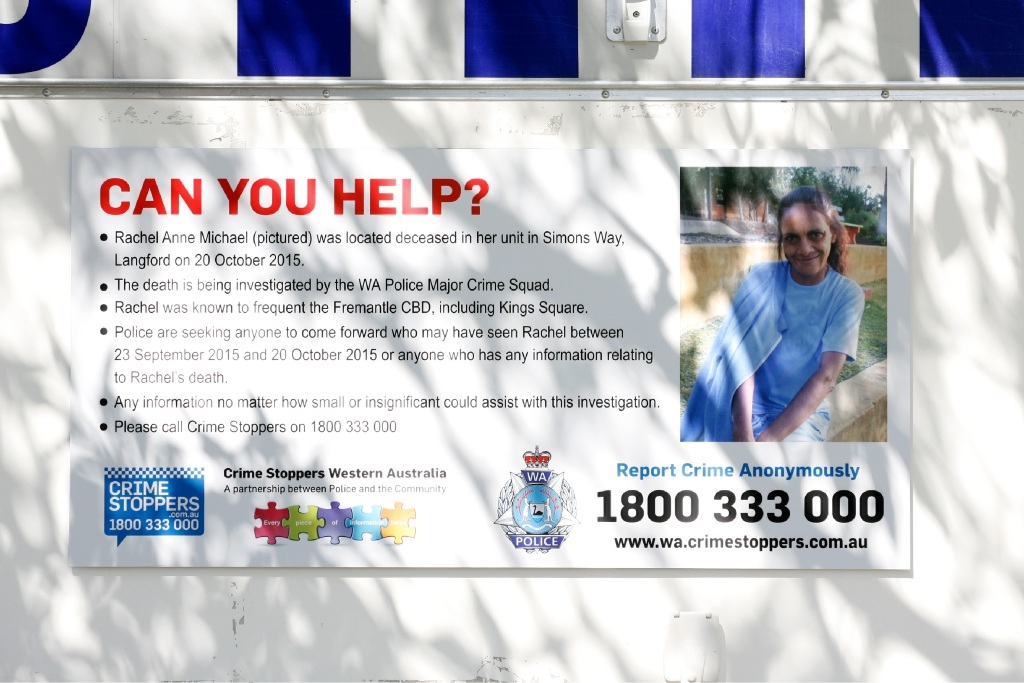 Police have set up a Mobile Policing Facility to help in their investigations into the death of Rachel Anne Michael.