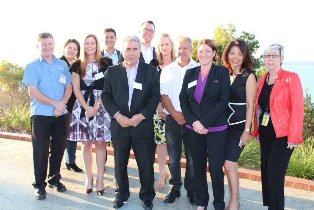 The Chamber board: Jon Ellis, Tea Smith, Jill Dixon, Barry Jones, Tony Romano, Richard Gordon, Monique Williams, Greg Parsons, Belinda Roberts, Hazel Commerell and Carol Frieling.