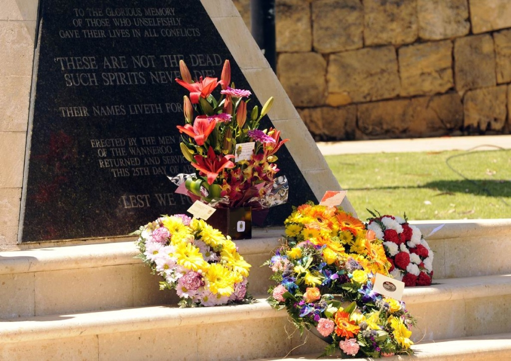 Remember the fallen at ceremony in Joondalup