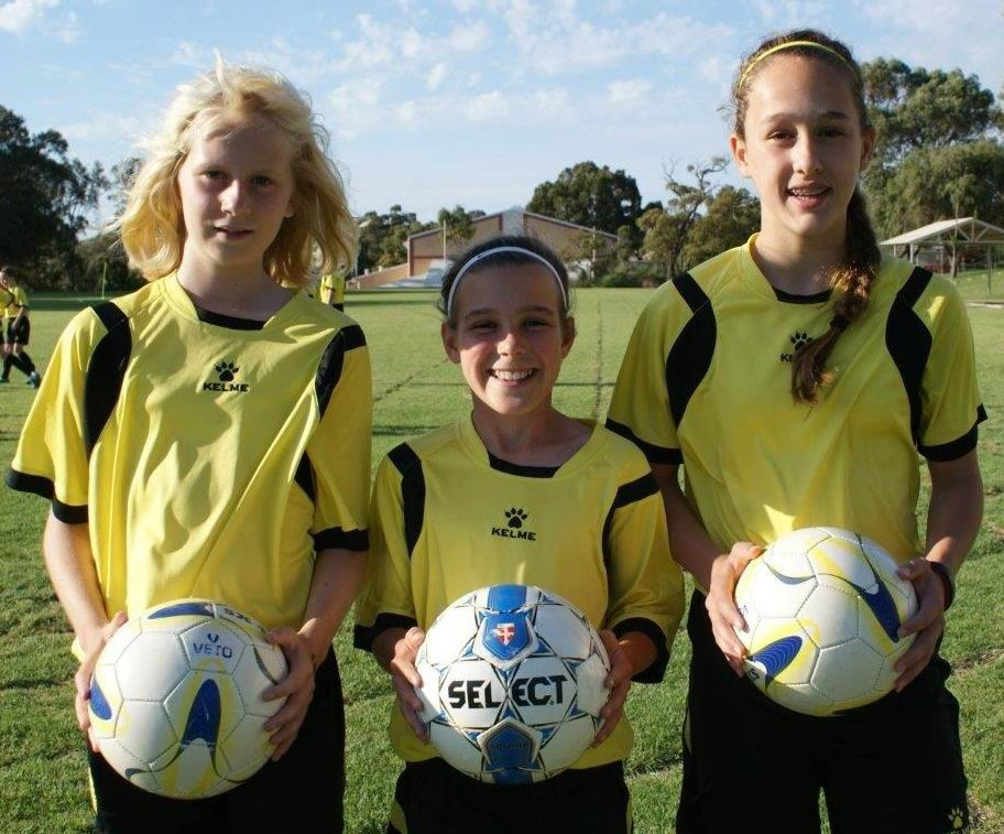 Hana Lowry, Tijan McKenna and Isabella Wallhead have been picked for the Under-12 squad.