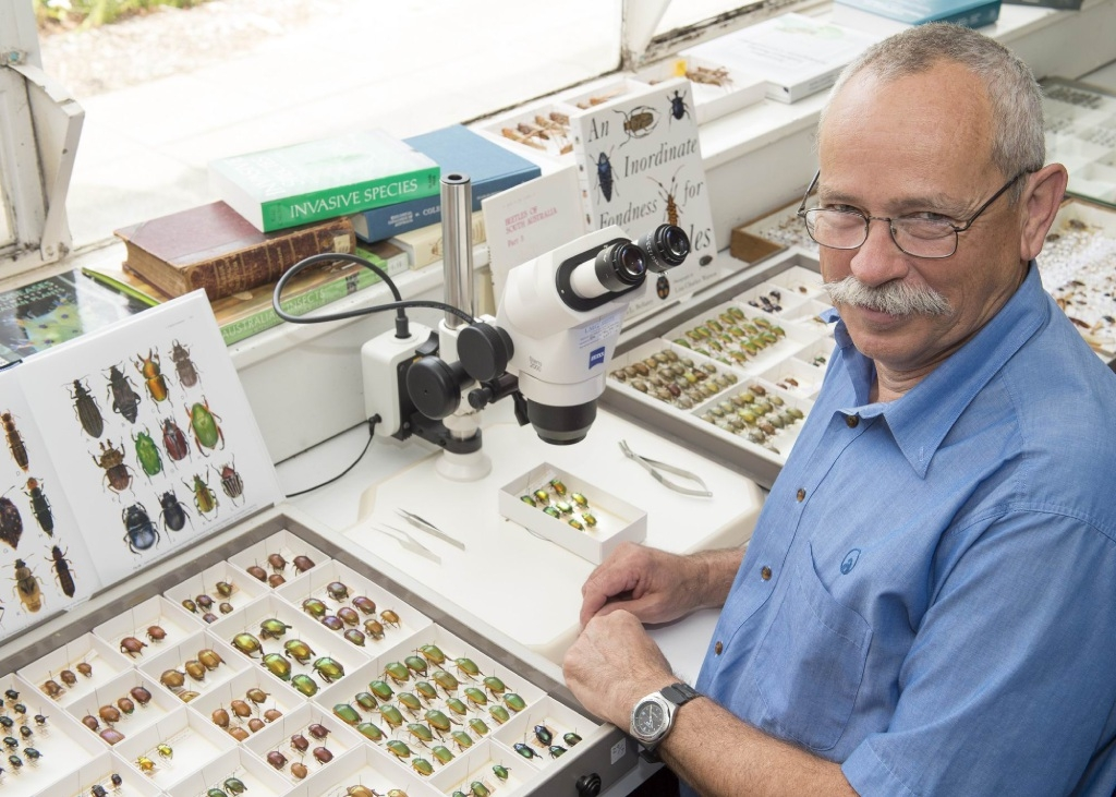 Taxonomist Andras Szito was one of many Department of Agriculture and Food staff who helped identify pests.