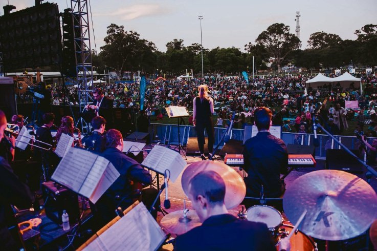The City of Wanneroo concert with WA Youth Jazz Orchestra. Picture: Tanya Voltchanskaya
