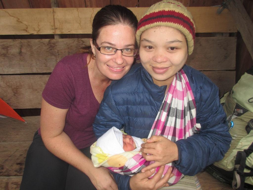 Midwife's jungle adventures in Myanmar