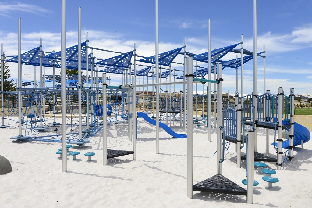 Another playground has opened in Jindalee.