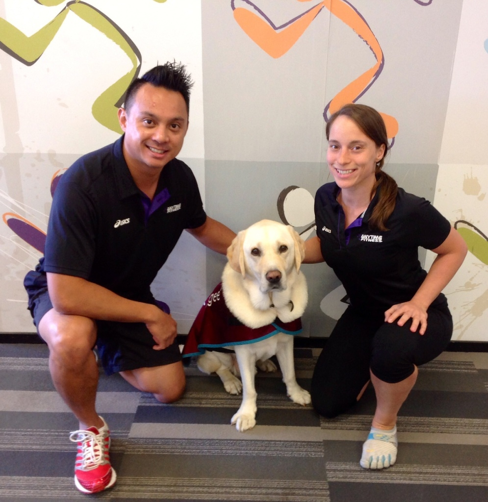 Good exercise in awareness for Anytime Fitness members