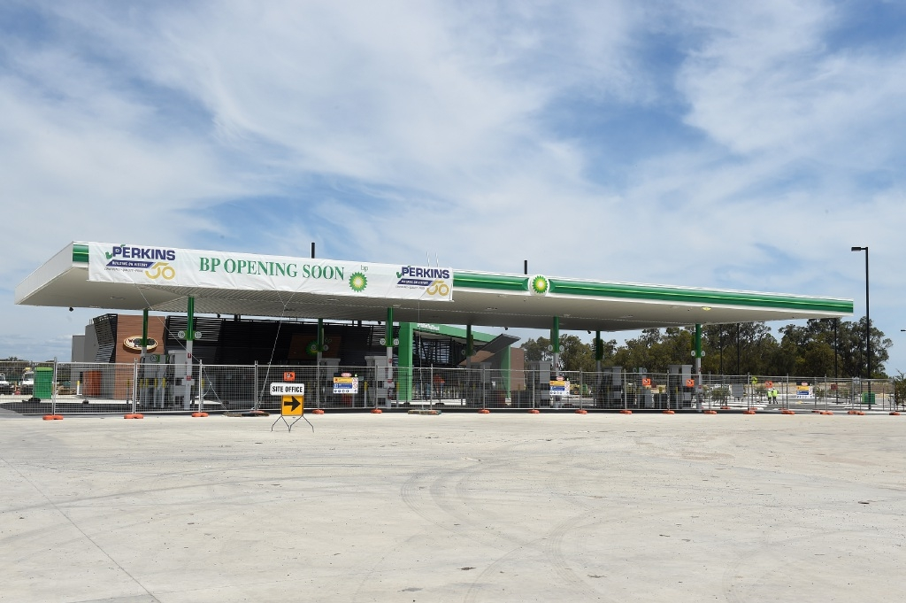 The BP station is nearly ready but can't open until principal shared path issues are resolved.