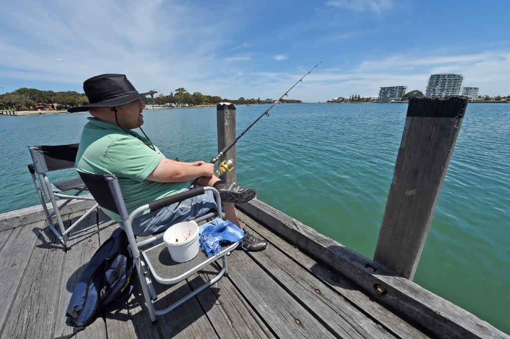 Fishing treat for disabled