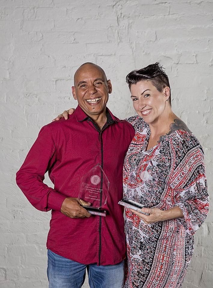 City of Swan staff John Mogridge and Belinda Baker-Millett won awards at last week's WA Youth Work Awards.