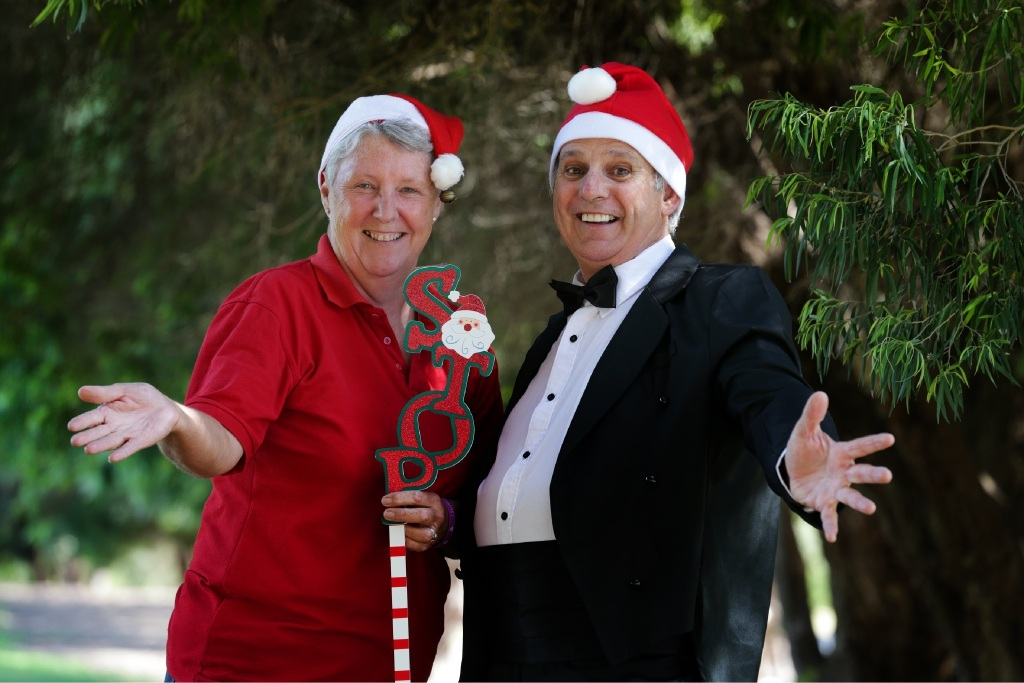 Julie Otremba and Ron Arnold from the Yanchep Two Rocks Community Rec Association.        Picture: Martin Kennealey d446662