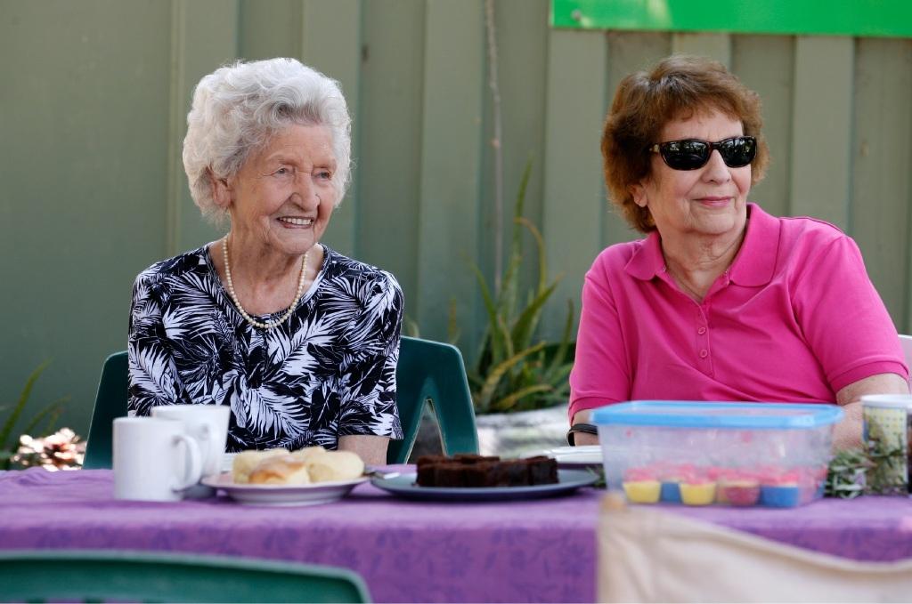 Seniors celebrated at Hilton Harvest Community Garden