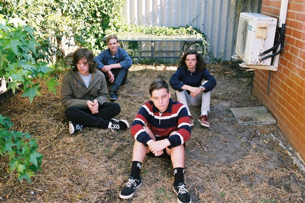 Matt Murphy, Josh Gallagher, Ross Mace and Chet Morgan.