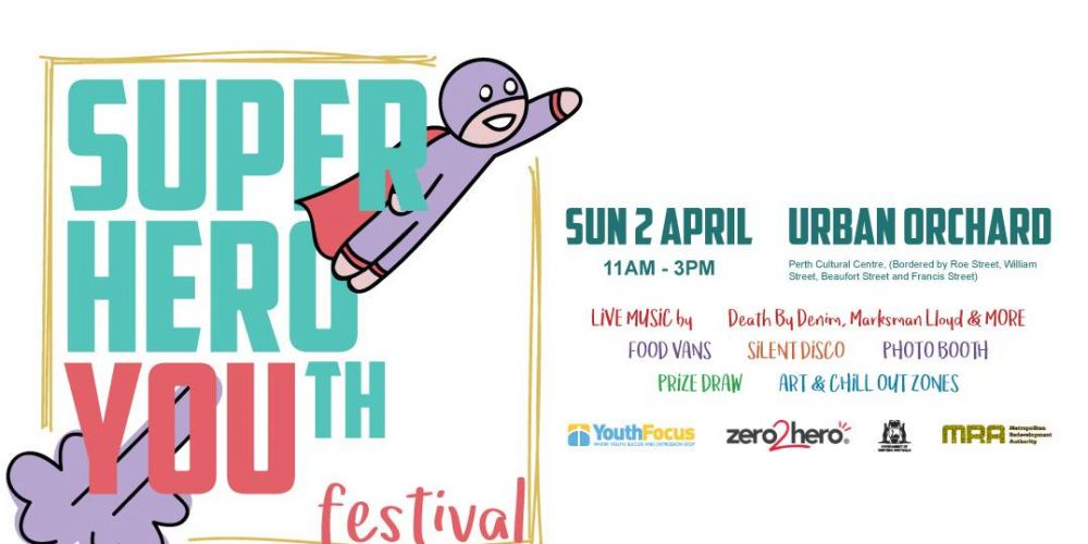 Superhero YOUth Festival on this Sunday