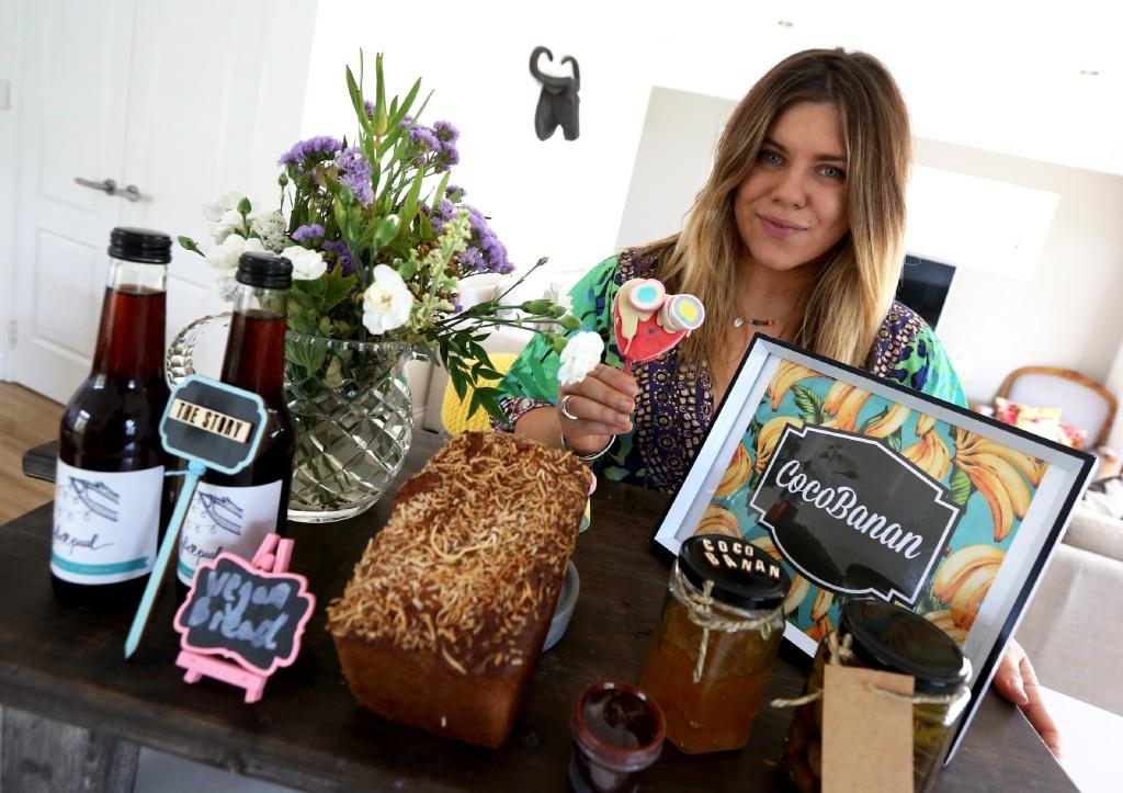 Healthy and tasty: Alessia Buccheri of Cocobanan.  Picture: Matt Jelonek www.communitypix.com.au   d445638