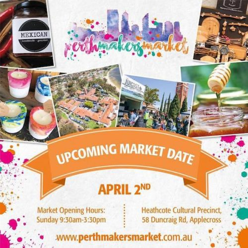 Perth Makers' Market in Applecross this Sunday