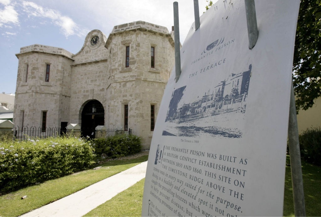 A squirt of oil and old Fremantle Prison could be brought back into service