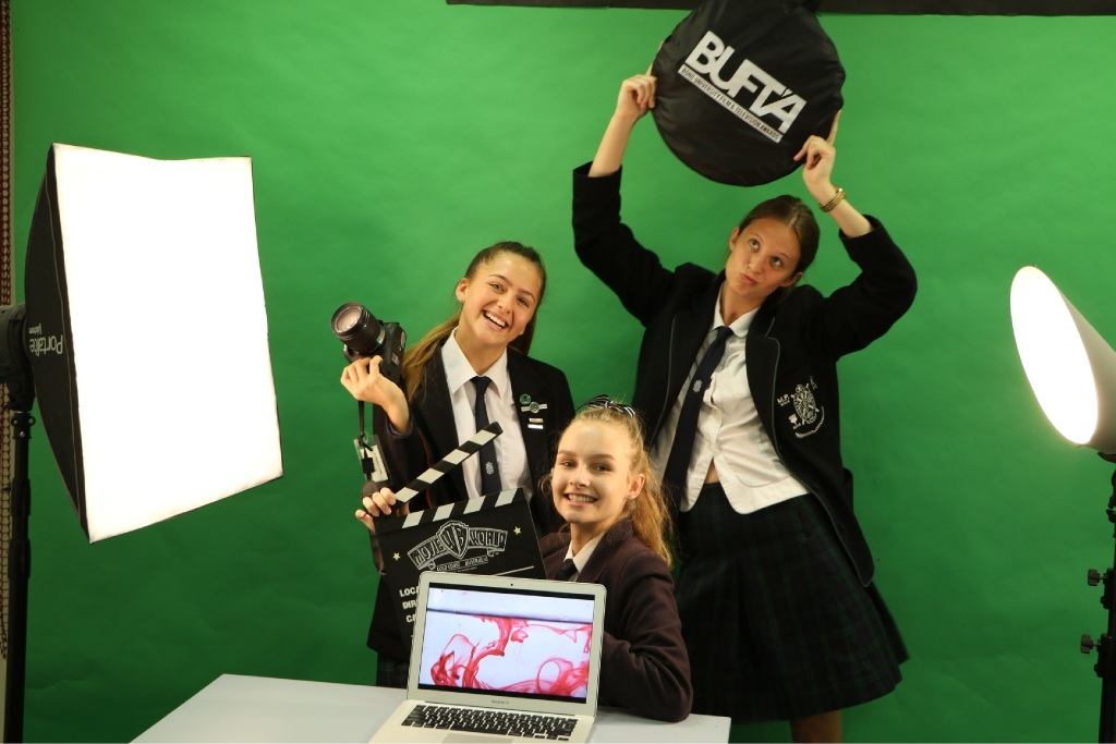 Careers beckon for Presbyterian girls on film