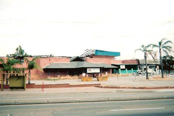 The site of the old Cascades Tavern during demolition. Picture: Diacon Demolition, from the 'Coles, why don't you care about Maylands?' Facebook page
