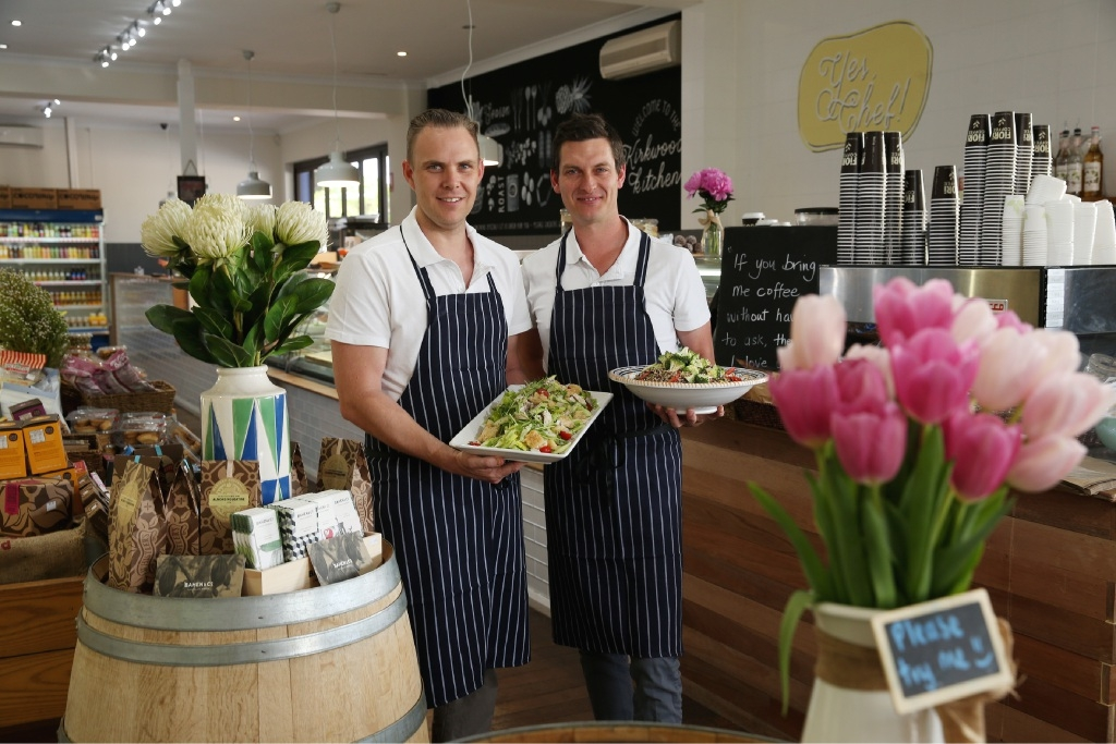 New Kirkwood Deli owners Zac Phillips and Ryan Carey. Picture: Andrew Ritchie        www.communitypix.com.au   d446716