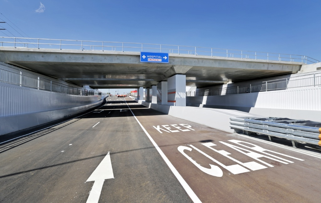 The new underpass on Lloyd Street in Midlandd446646