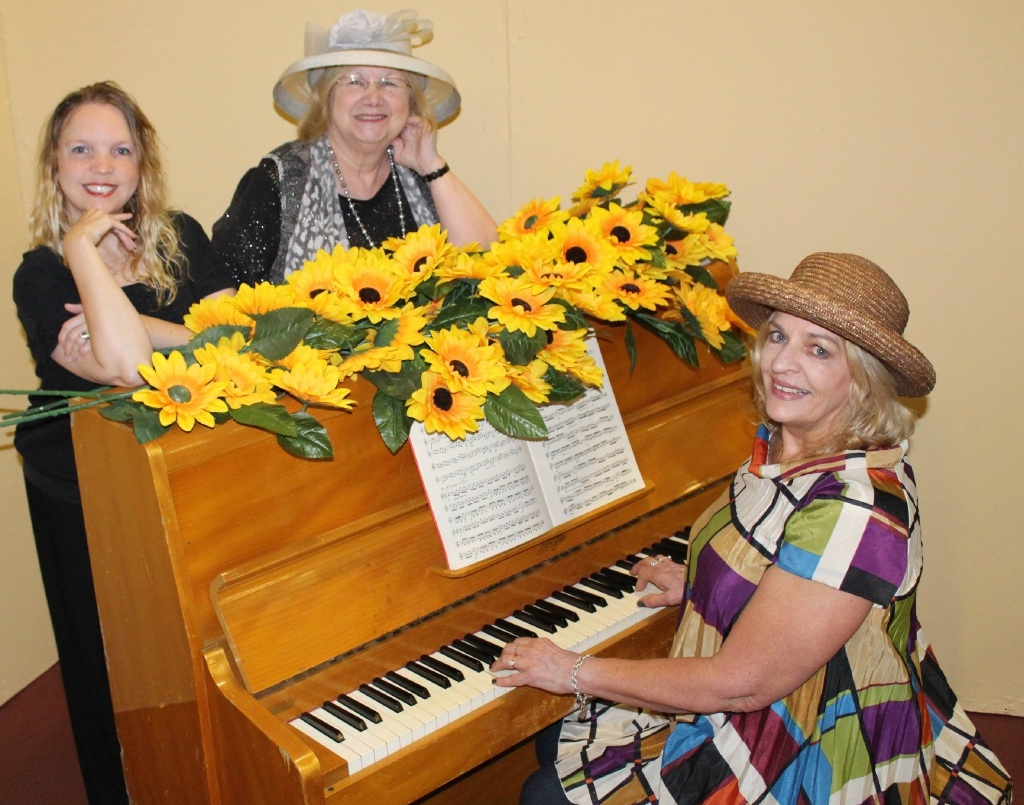 Becky Barton, Julie Holmshaw and Jenni  Glassford appear in Calendar Girls.