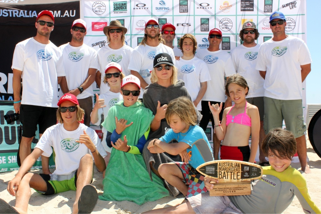 Alexander delivers for Mandurah boardriders club