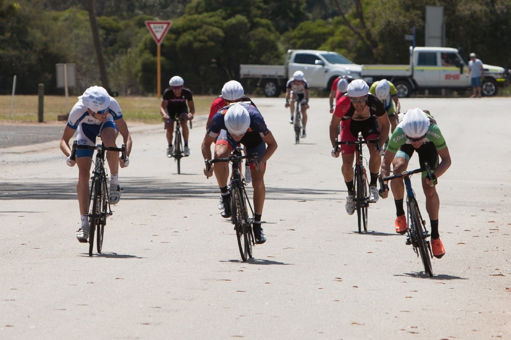 Tough test for riders at Pinjarra industrial estate
