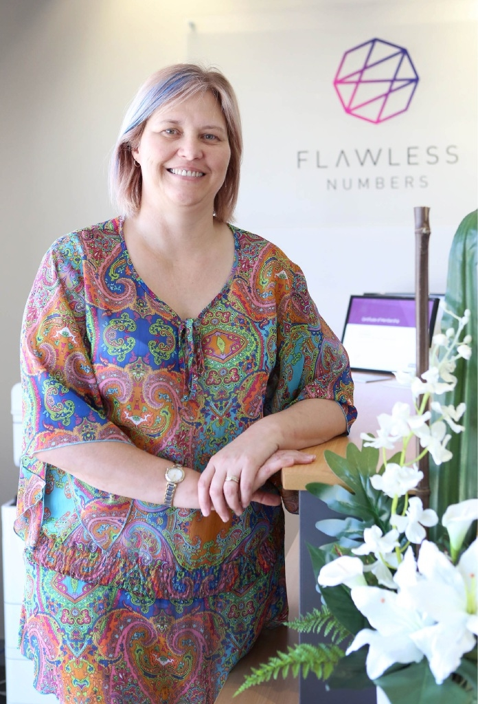 Flawless Numbers owner Tracey Edwardes.Picture: Matt Jelonek        www.communitypix.com.au   d446985
