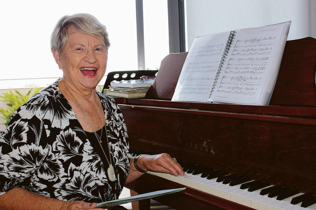 Choir director Deidre Russell.