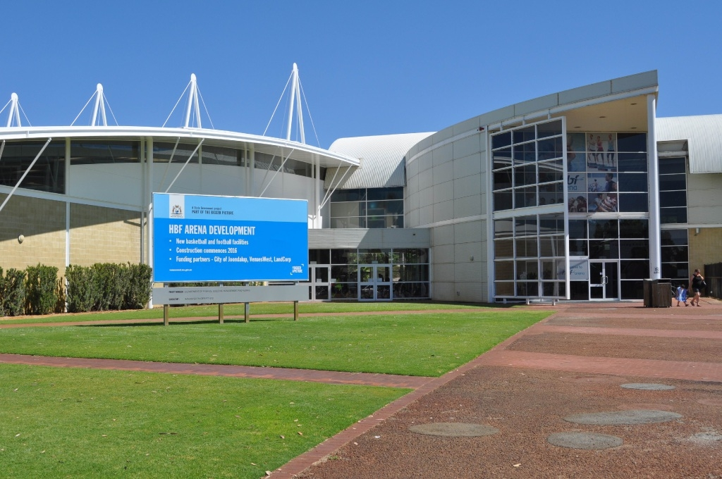 Change coming: Major upgrades to Arena Joondalup have been approved.