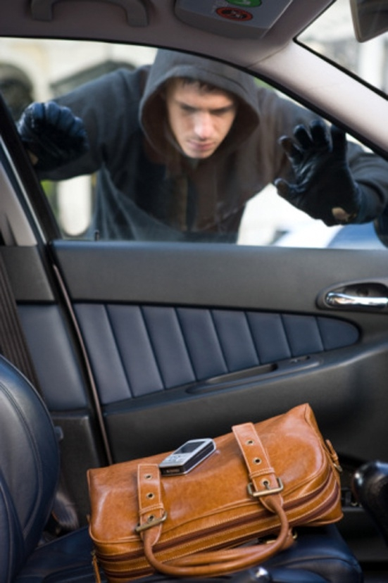 Police warning – don't leave valuables in car