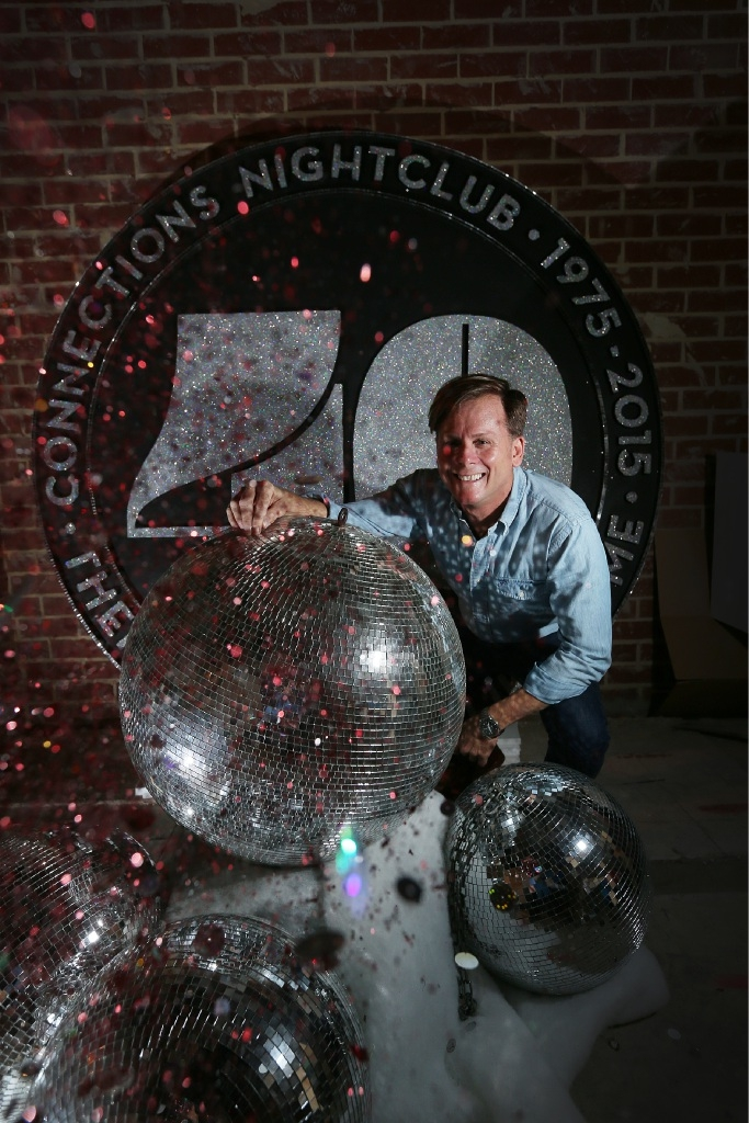 Connections co-owner Tim Brown. Connections' 40th anniversary will be held on December 5. Picture: Andrew Ritchie        www.communitypix.com.au   d447028