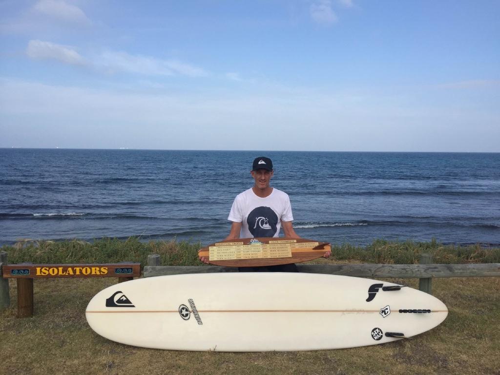 East Fremantle surfer Jarrah Calder.
