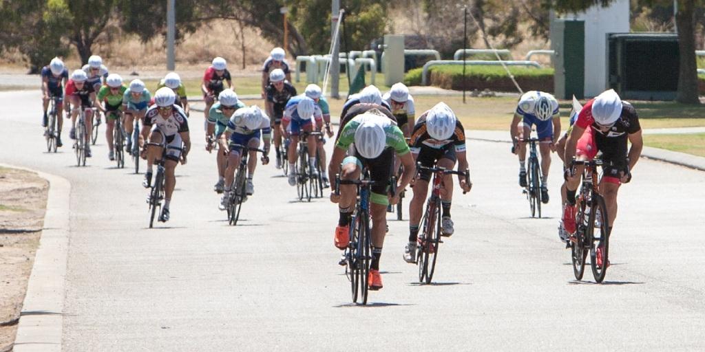 Criterium racing in Rockingham
